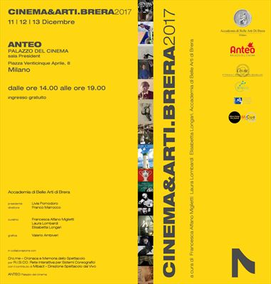 Cinema&Arti.Brera 2017